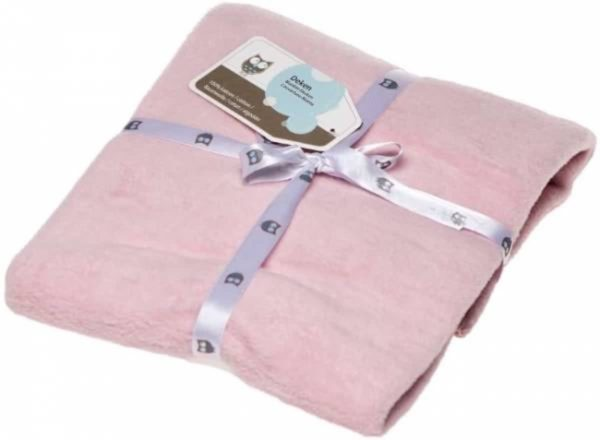 Briljant ledikant deken licht roze