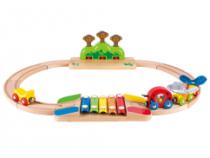 Hape eerste houten treinbaan