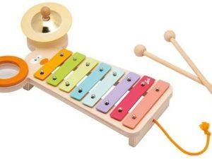 Sevi Xylofoon metaal 3 in 1