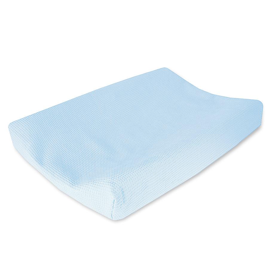 Cottonbaby aankleedkussen hoes lichtblauw
