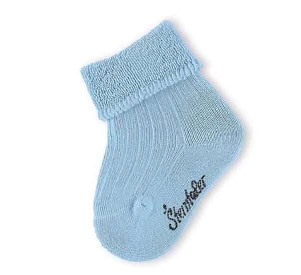 Sterntaler baby sokje blauw maat 15/16