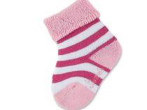 Sterntaler baby sokje roze-wit maat 13/14