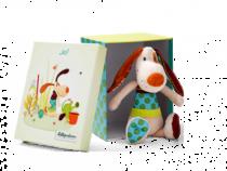 Lilliputiens Jef knuffelhond box