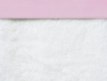 Cottonbaby ledikant laken Chambray roze
