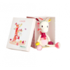 LIlliputiens Louise knuffel eenhoorn box