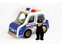 Tidlo houten politieauto