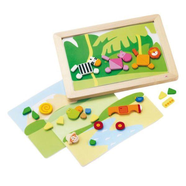 sevi magneet puzzel savanne