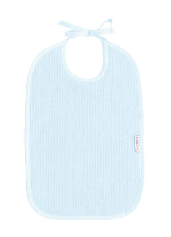 Cottonbaby slab wafel lichtblauw