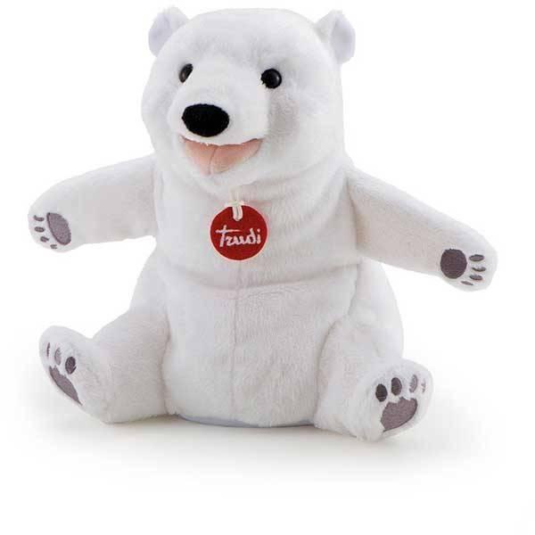 Trudi handpop ijsbeer