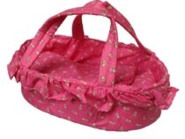 Mini Mommy poppen reiswieg pink 35 cm