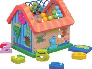 Jumini activiteiten huis – houten speelgoed