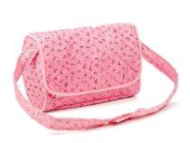 Mini Mommy poppen luiertas de luxe roze