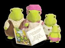 Li'l Woodzeez Schildpad familie
