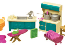 Li'l Woodzeez keuken en huishoudset