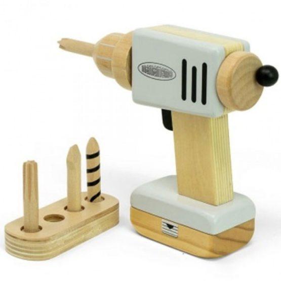 Mamamemo houten boormachine 6 delig