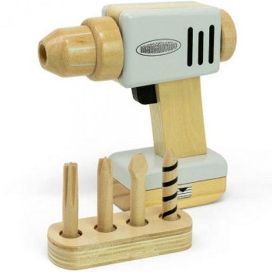 Mamamemo houten boormachine