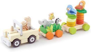Sevi houten safari trein