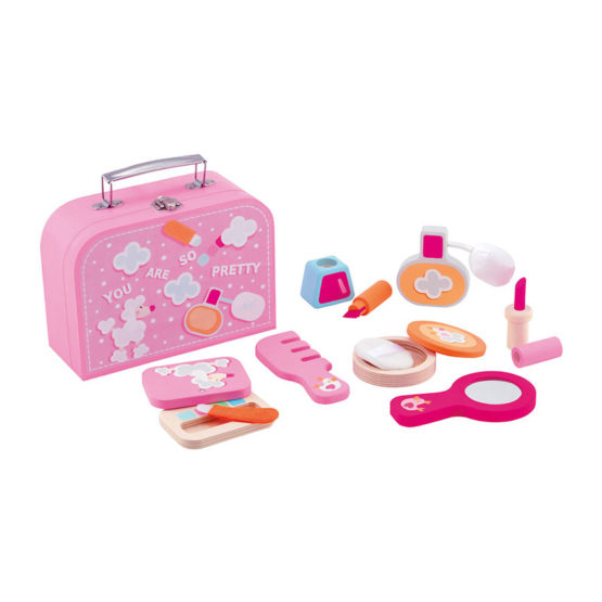 Sevi Houten Make Up set