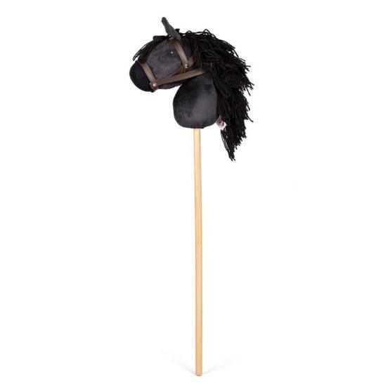Byastrup stokpaardje Zwart