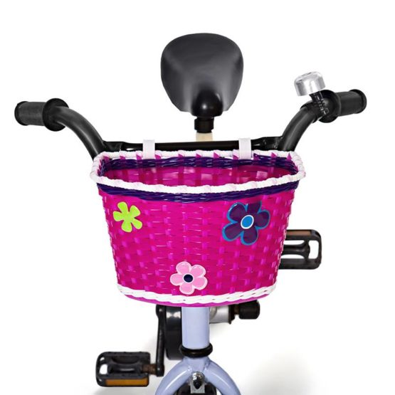 Mini Mommy Fietsmandje voor kinderfiets Roze