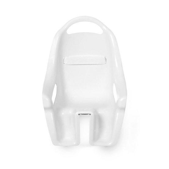 Mini Mommy Fietsstoeltje voor de Pop Wit