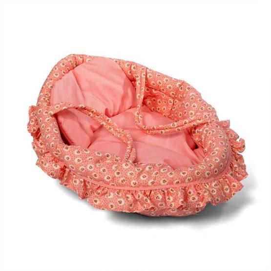 Mini Mommy Poppenreiswieg Dusty Roze 50cm