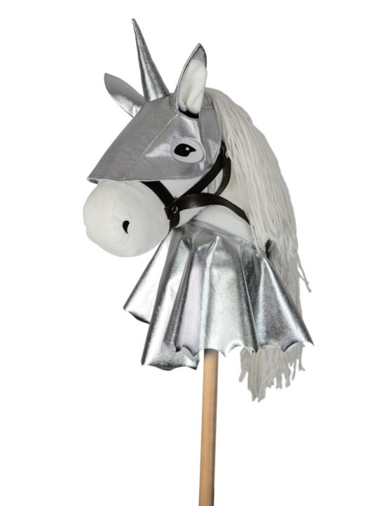 ByAstrup Harnas voor stokpaardje Zilver